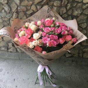 роза спрей микс
