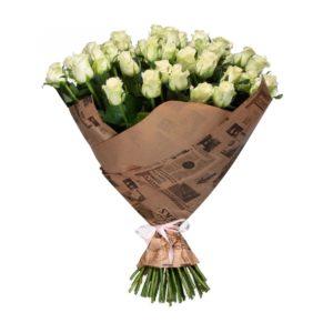 51 белая роза Кубанская
