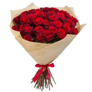 51 красная роза Кубанская