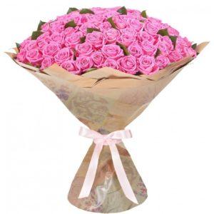 101 розовая роза кубанская
