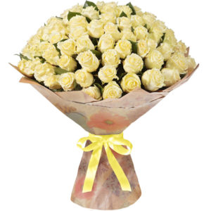 101 белая роза Кубанская