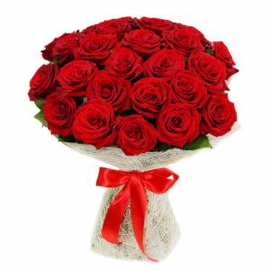 Букет 29 красных роз